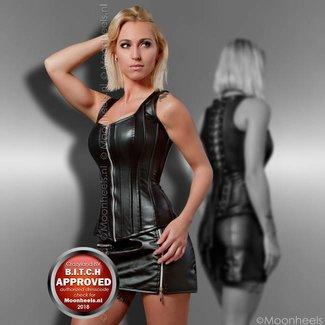". ""Black Temptation"" corset"
