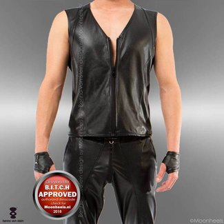 Benno von Stein Shirt Man Imitation Leather Remas Benno von Stein