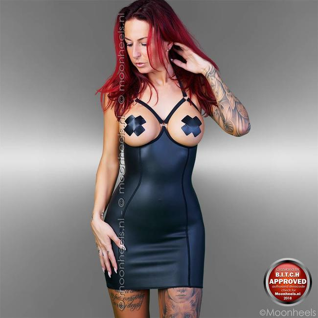 Kinky Rubber Dress Topless