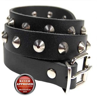 Sturdy Leather belt 85 cm Long - Copy