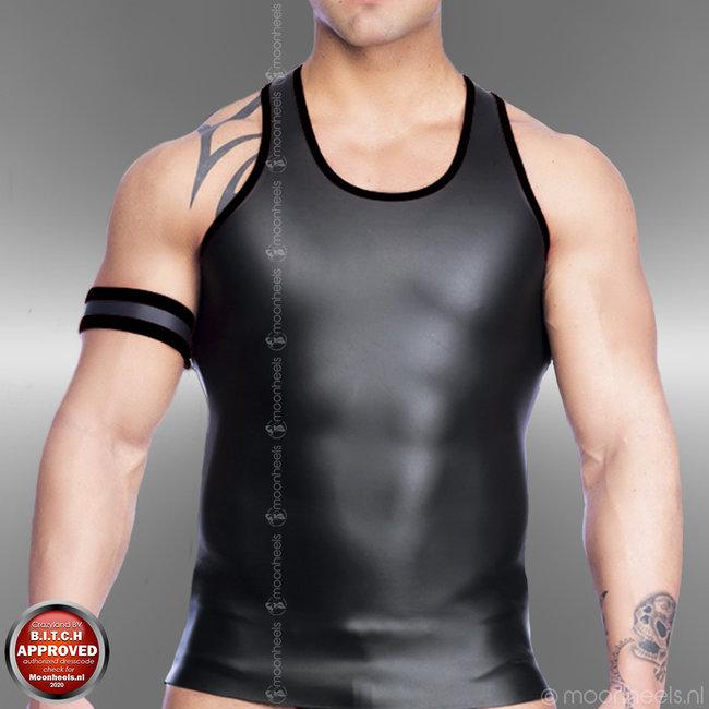 Neoprene Rubber Tank Top Shirt Man