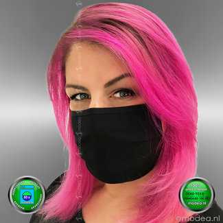 Mouth mask 50x washable, ear elastic, OEKO-TEX certified