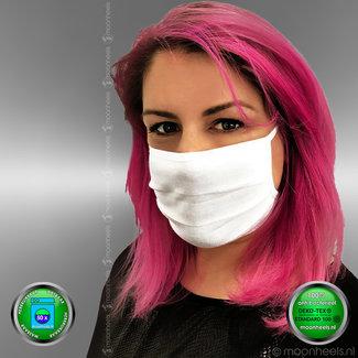 Face mask 50x washable, ear elastic, OEKO-TEX certificate