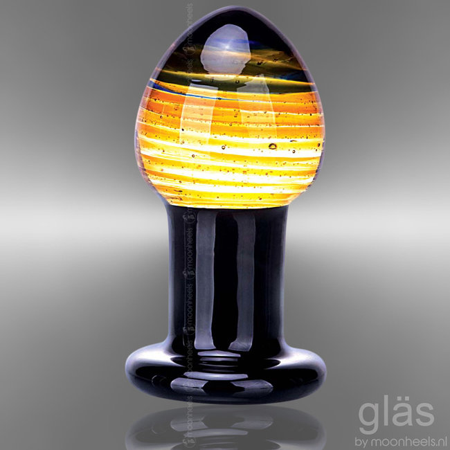 GLAS GLASS BUTT PLUG GALILEO