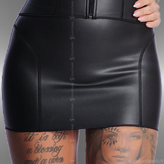 Kinky neoprene (rubber) skirt - Copy