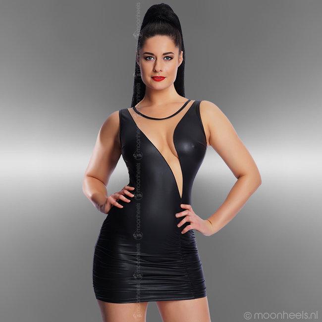 """Modea - moda sensuale ExcIusieve wetlook soft-nude jurk """"Julia"""""""