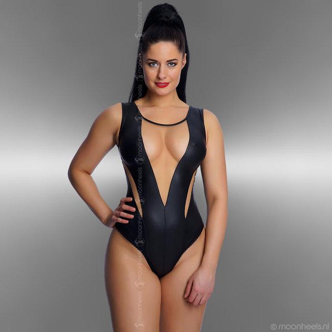 """Exclusieve soft-nude wetlook body """"Lea"""""""