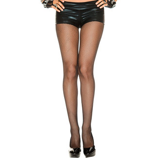 Plus Size Seamless Fishnet Tights