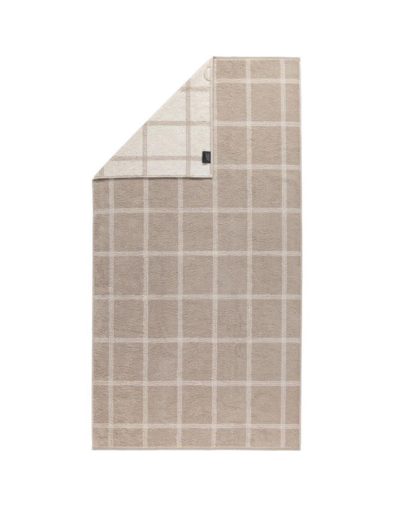 Cawö Cawo Two-Tone Grafik Handdoek