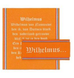 DDDDD DDDDD keukenset Wilhelmus Oranje  (1 keukendoek 2 theedoeken)