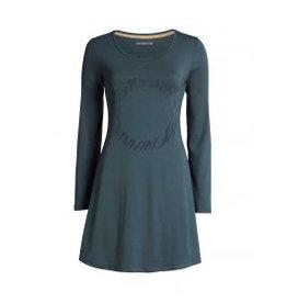 Essenza Essenza Elm Flock Home dress Long Sleeve Grey S