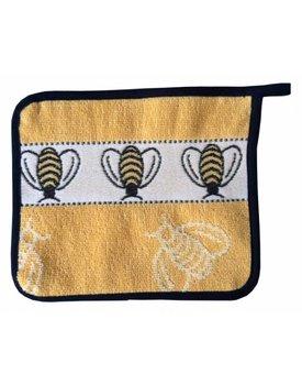 Elias pannenlap Bee geel