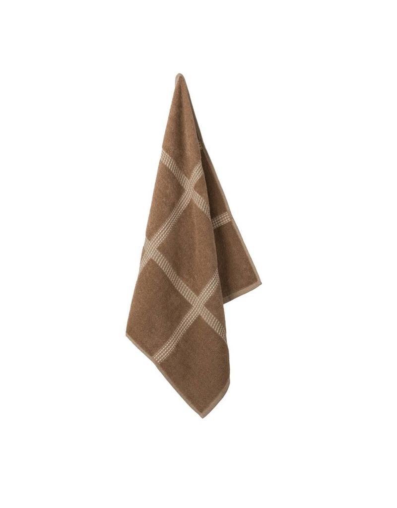 Elias Elias keukendoek Square Brown 60x60cm
