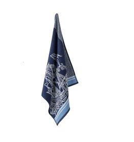Elias Elias keukendoek Caravel Blue 60x60cm