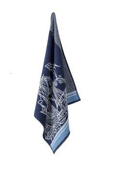 Elias keukendoek Caravel Blue 60x60cm