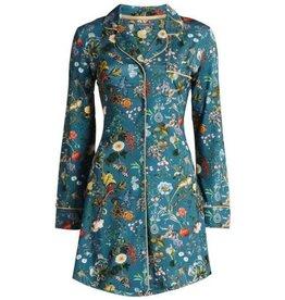 Essenza Essenza Laka Xess Nightdress long sleeve Petrol XL