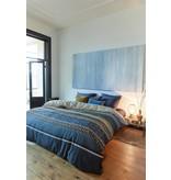 Beddinghouse Beddinghouse dekbedovertrek Linear Leaf BlueGrey
