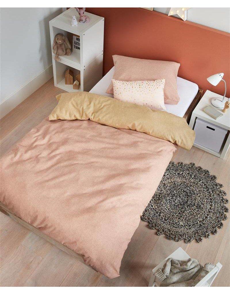 Beddinghouse Beddinghouse KIDS dekbedovertrek Boet Soft Pink 140x200/220