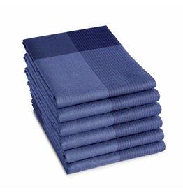 DDDDD DDDDD Theedoek Blend 60x65 violet blue