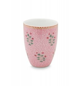 Pip Studio Pip Studio drinkbeker Floral Good Morning Pink
