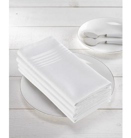 De Witte Lietaer De Witte Lietaer servetten Deauville 51-51cm White/ per 4