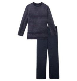 Schiesser Schiesser heren pyjama 164282 rood lang