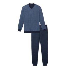 Schiesser Schiesser heren pyjama 164281 rood lang
