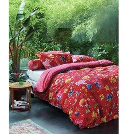 Pip Studio PiP Studio dekbedovertrek Floral Fantasy rood