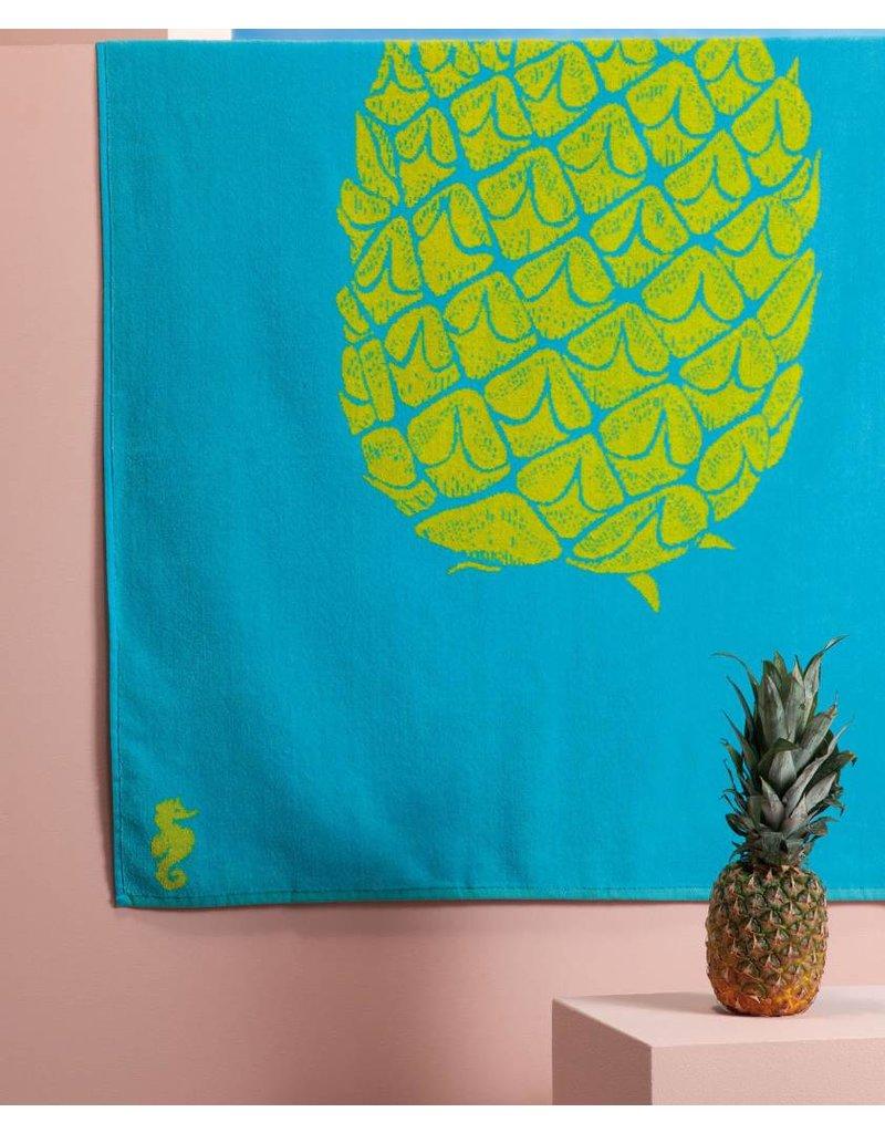 Seahorse Seahorse strandlaken Ananas light-aqua 100 x 180 cm