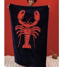 Seahorse Seahorse strandlaken Lobster navy 100 x 180 cm