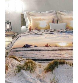 Heckett & Lane Heckett & Lane dekbedovertrek Dylan Sunset-Natural