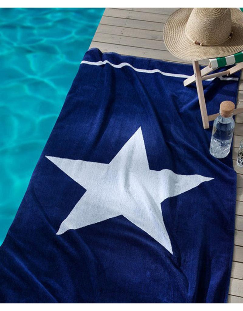 Seahorse Seahorse strandlaken star blue 100x180cm