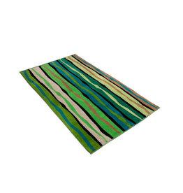 Vossen Vossen strandlaken Liana stripe grass