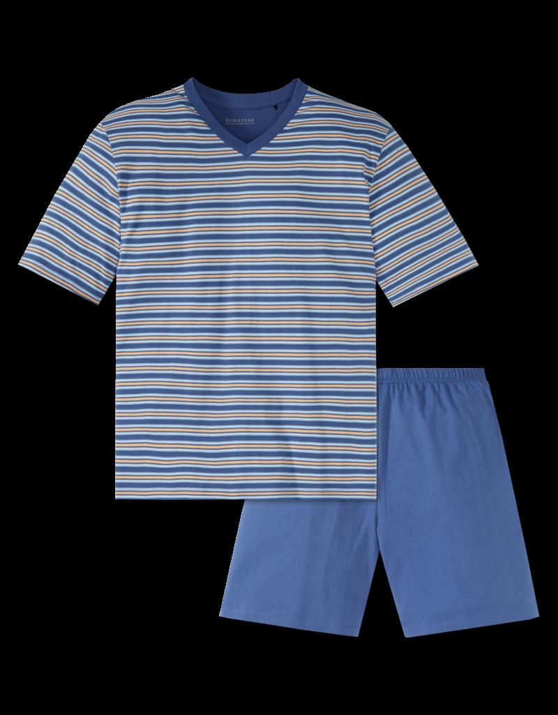 Schiesser Schiesser heren pyjama kort 166794 multi