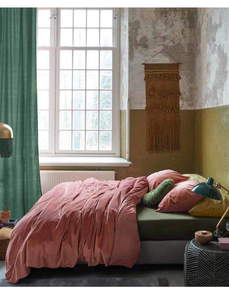 At home dekbedovertrek Tender donkerroze