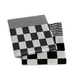 DDDDD DDDDD keukendoek Barbeque zwart 50x55 (per stuk)