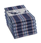 DDDDD DDDDD theedoek Friesian blue 60x65 (per stuk)