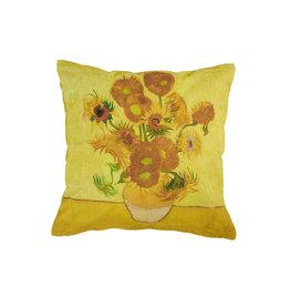 Beddinghouse Beddinghouse x Van Gogh sierkussen Sunflower geel 45x45