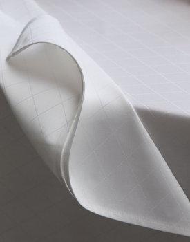 DDDDD tafellaken Rhombus wit