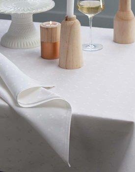 DDDDD tafellaken Quadrat wit 150x350