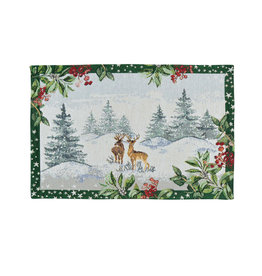 Sander Sander placemat winter scenery