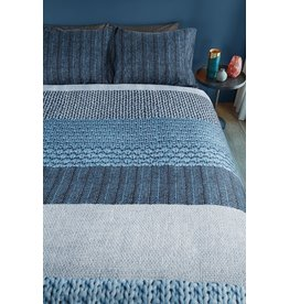 Beddinghouse Beddinghouse dekbedovertrek Evans blue