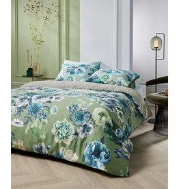Kardol & Verstraten Kardol dekbedovertrek Ornate blauwgroen