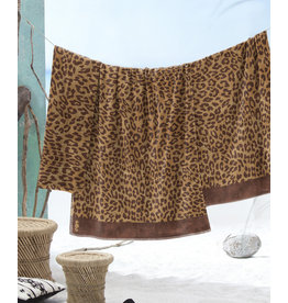Seahorse Seahorse strandlaken Jaguar camel 100x180