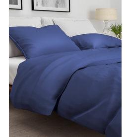 Zo! Home Zo Home! dekbedovertrek Satinado navy-blue