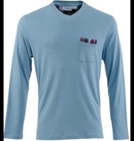 Carl Ross Carl Ross Heren Shirt v-neck lang
