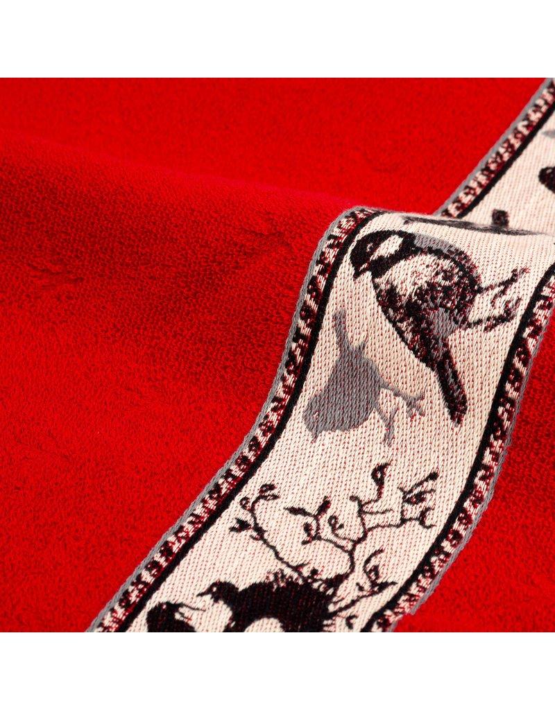 Bunzlau Castle Bunzlau Castle keukendoek Birds red