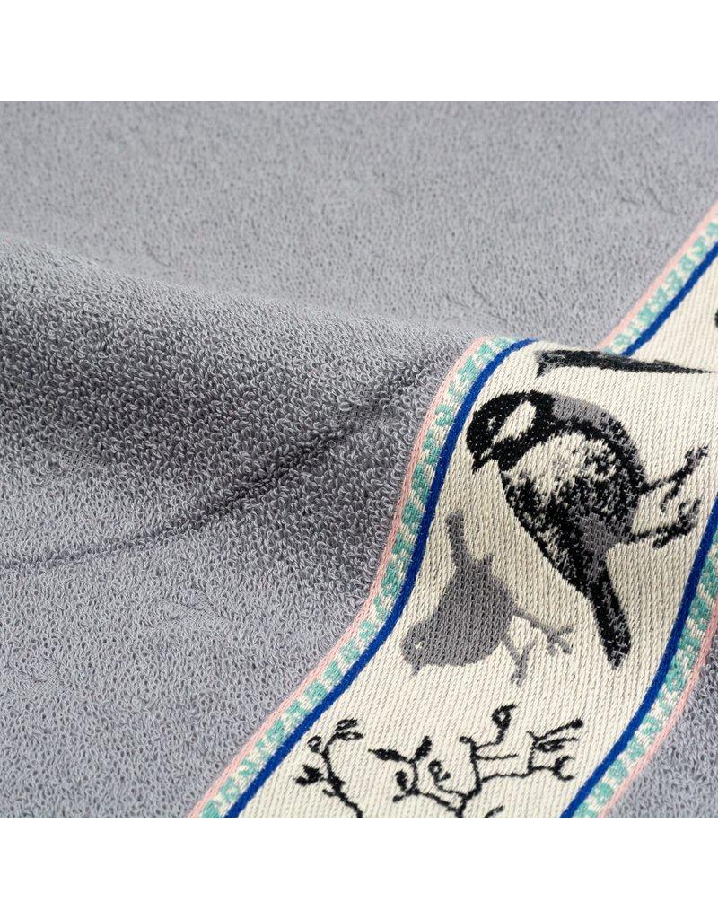 Bunzlau Castle Bunzlau Castle keukendoek Birds grey