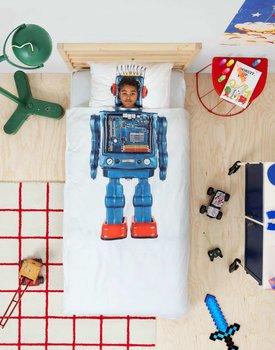 Snurk beddengoed Robot dekbedovertrek 140-200/220
