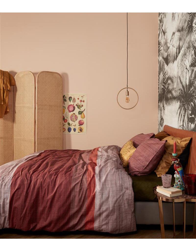At Home by BeddingHouse Dusk Dekbedovertrek - Rood